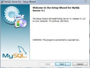 MySQL Welcome