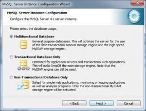 MySQL DB Typ